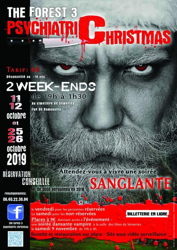 Joveniaux graphiste affiche the forest 3 psychiatric christmas semeries 2019 studio reveries numeriques photographe asad