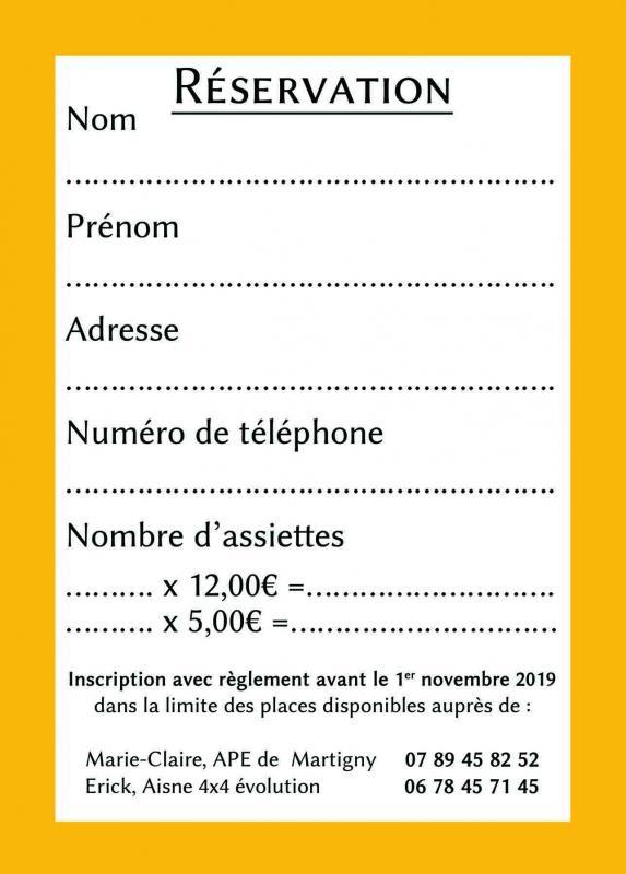Joveniaux graphiste flyer soiree beaujolais martigny leuze aisne 4x4 ape 2019 verso