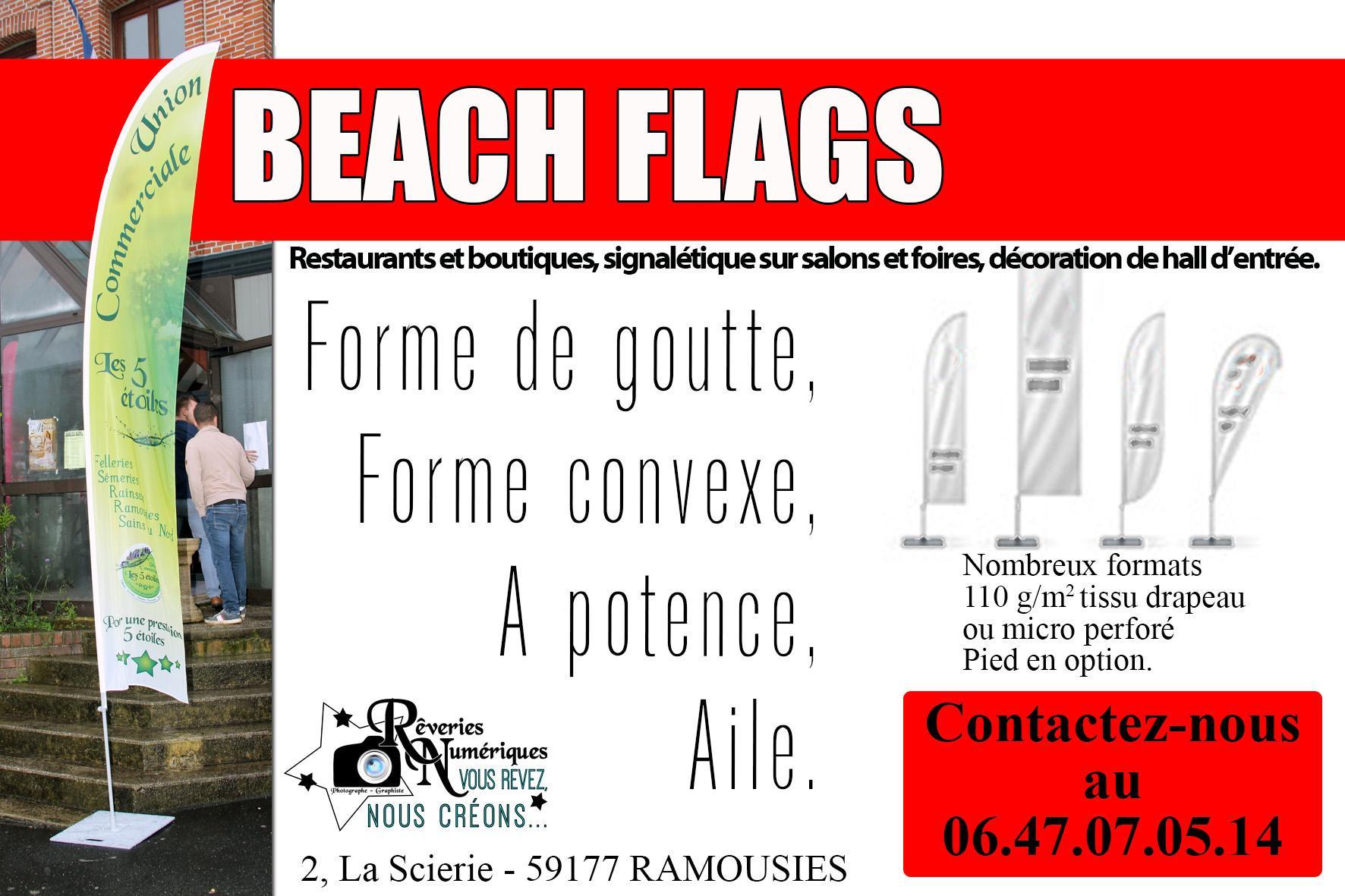 Joveniaux graphiste signaletique drapeau union conmmerciale des 5 etoiles avesnes sur helpe 1