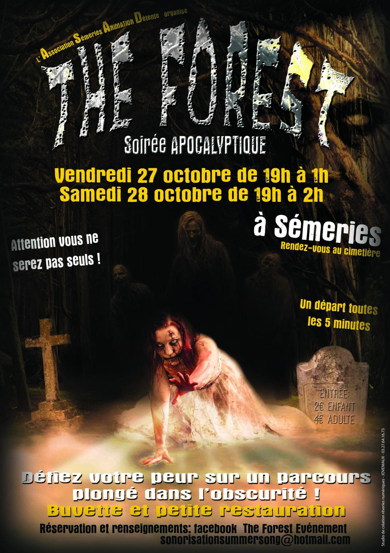 Joveniaux graphiste studio reveries numerique semeries the forest