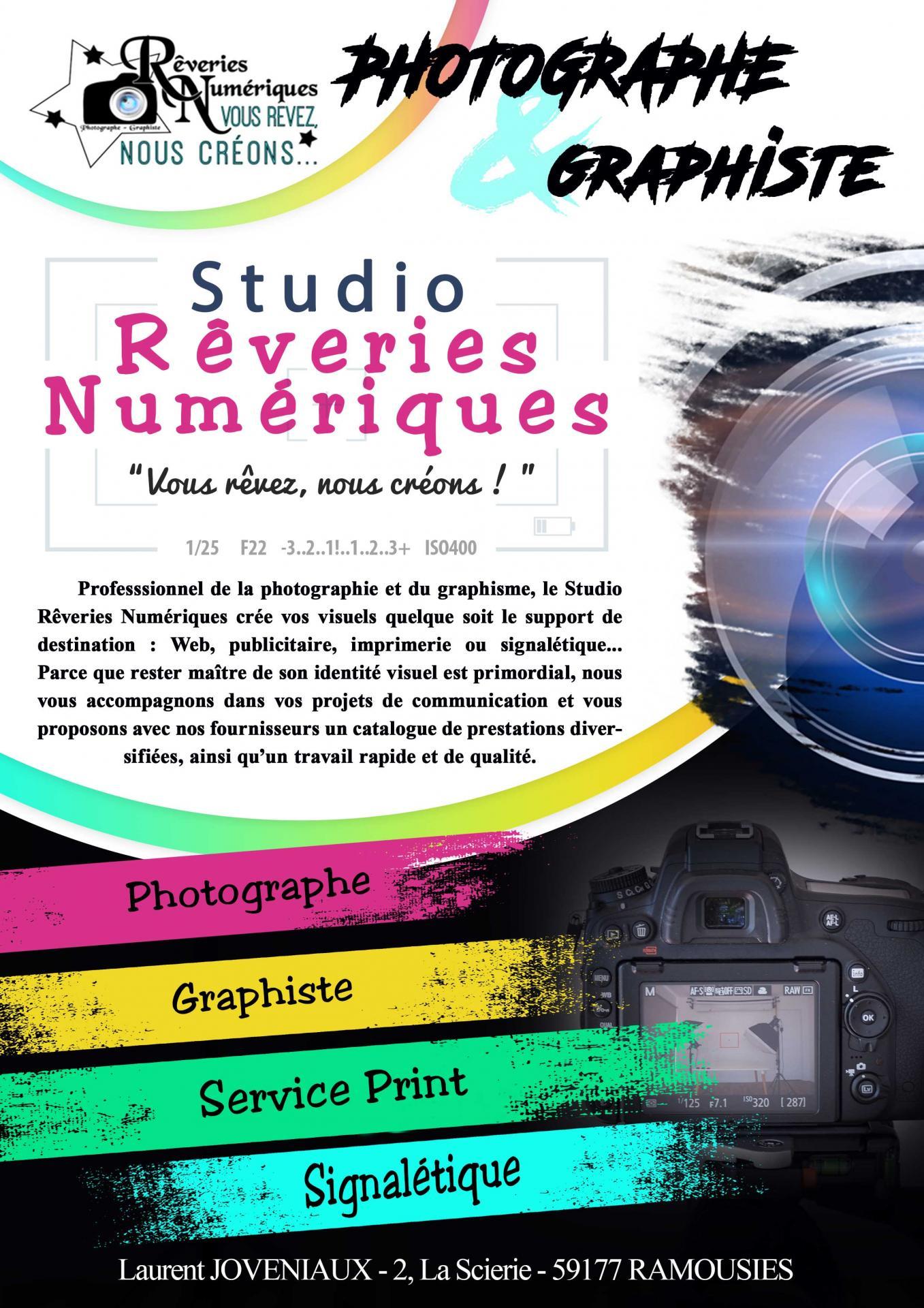Joveniaux laurent photographe graphiste flyer recto