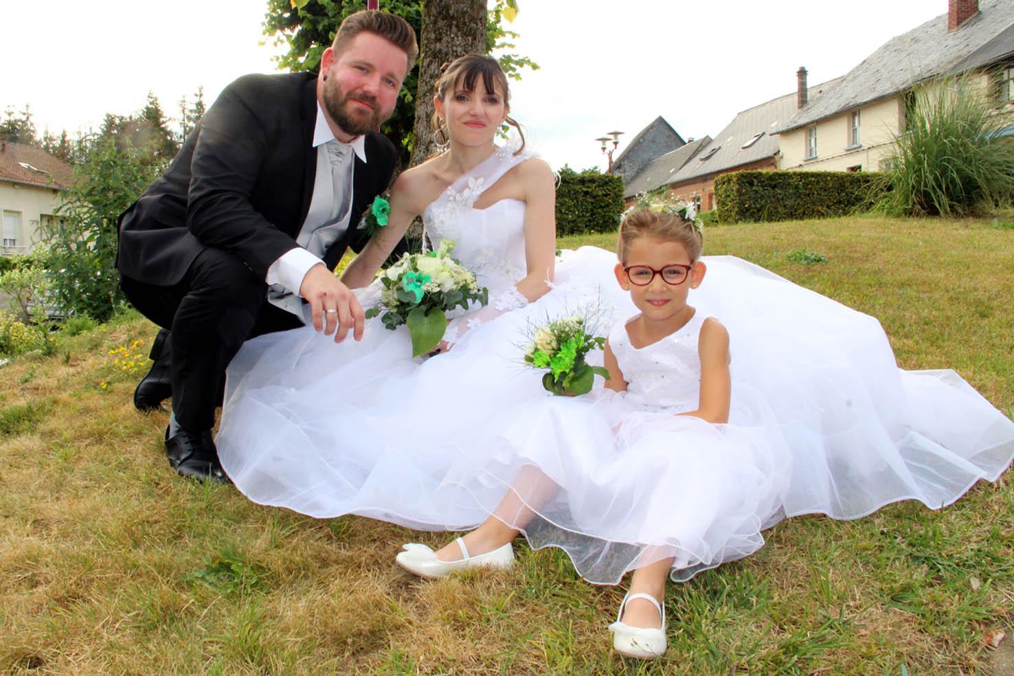 Le mariage d'Amélie et Yohan est en ligne