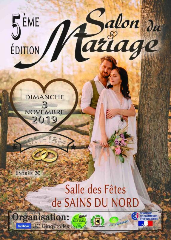Joveniaux photographe de mariage salon du mariage sains du nord graphiste flyer
