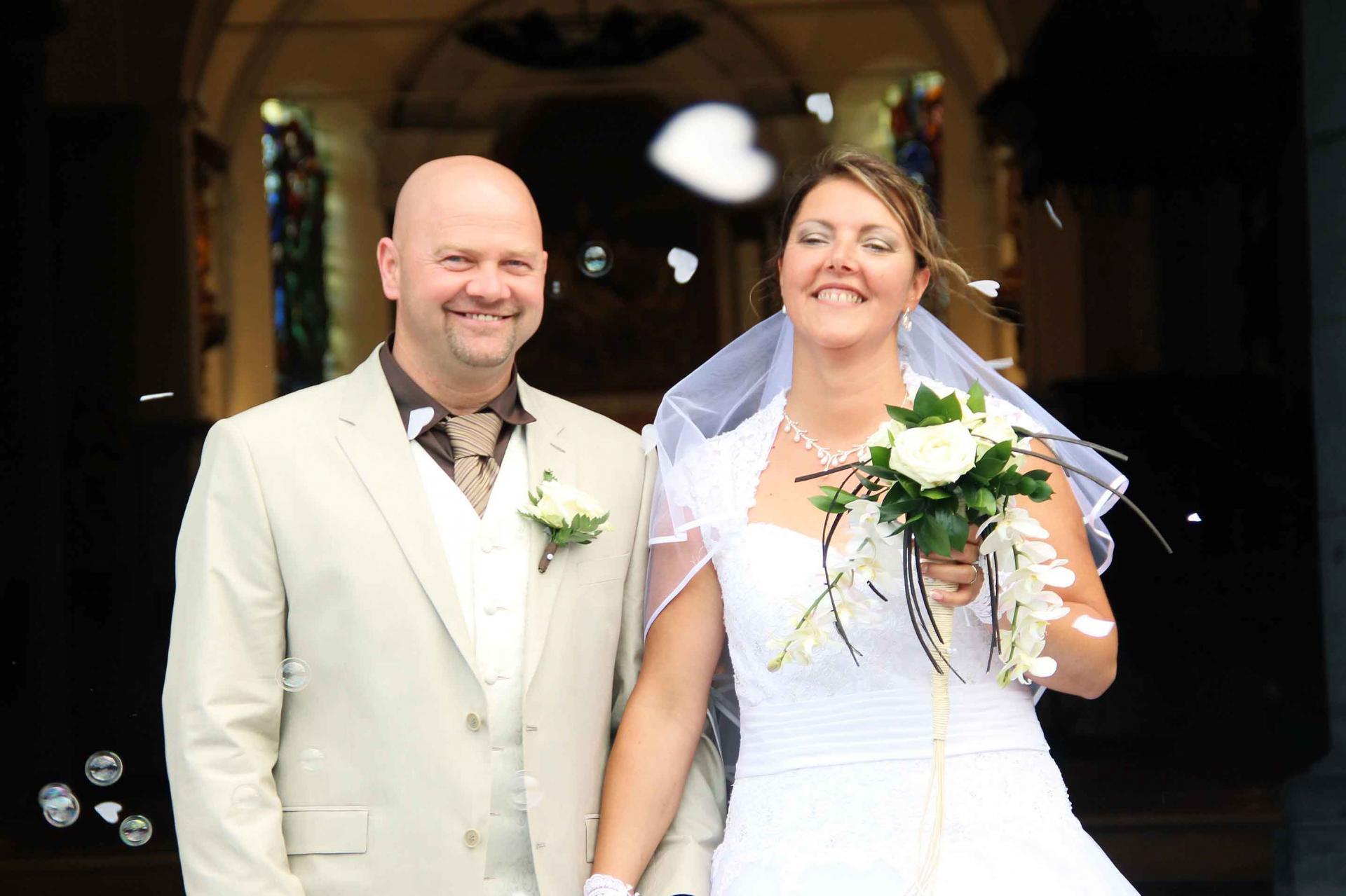 L'album privé du mariage de Virginie et Jean-Pierre est en ligne