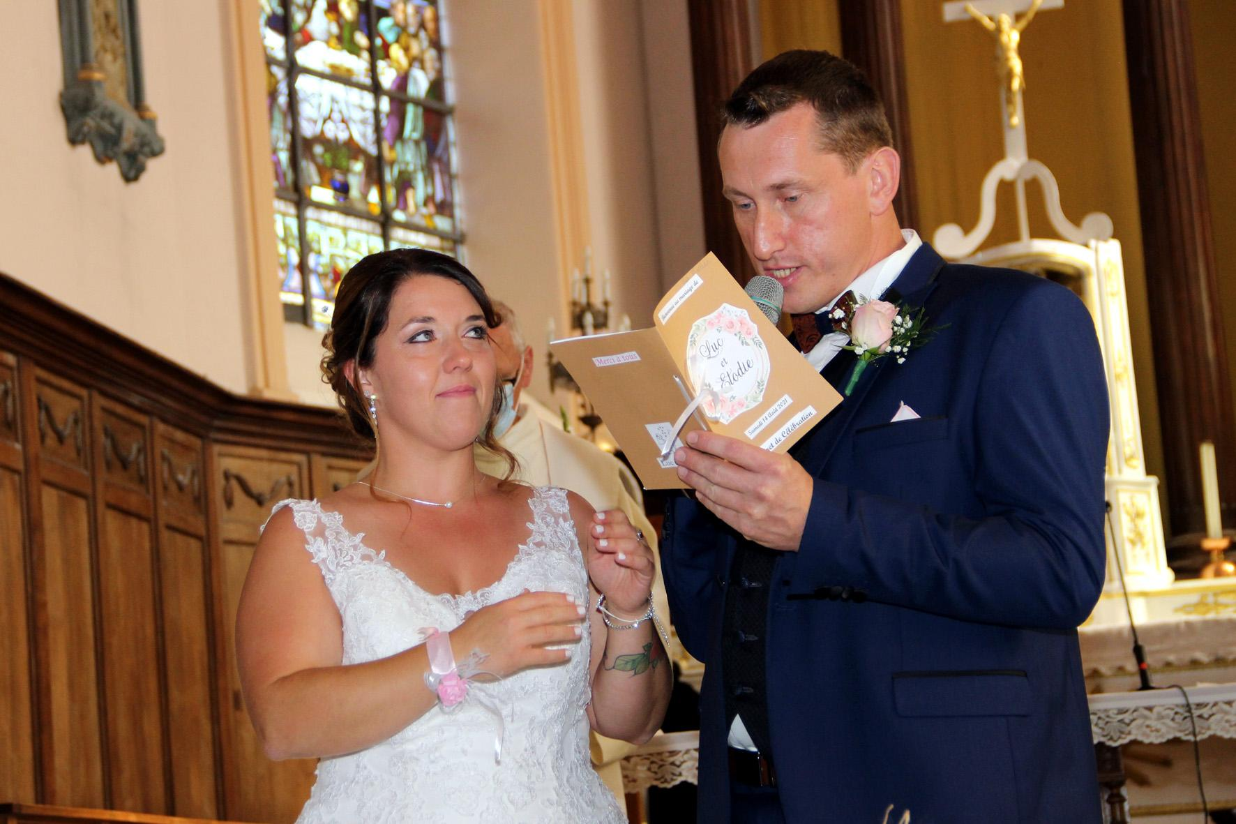 Le mariage d'Elodie et Luc est en ligne