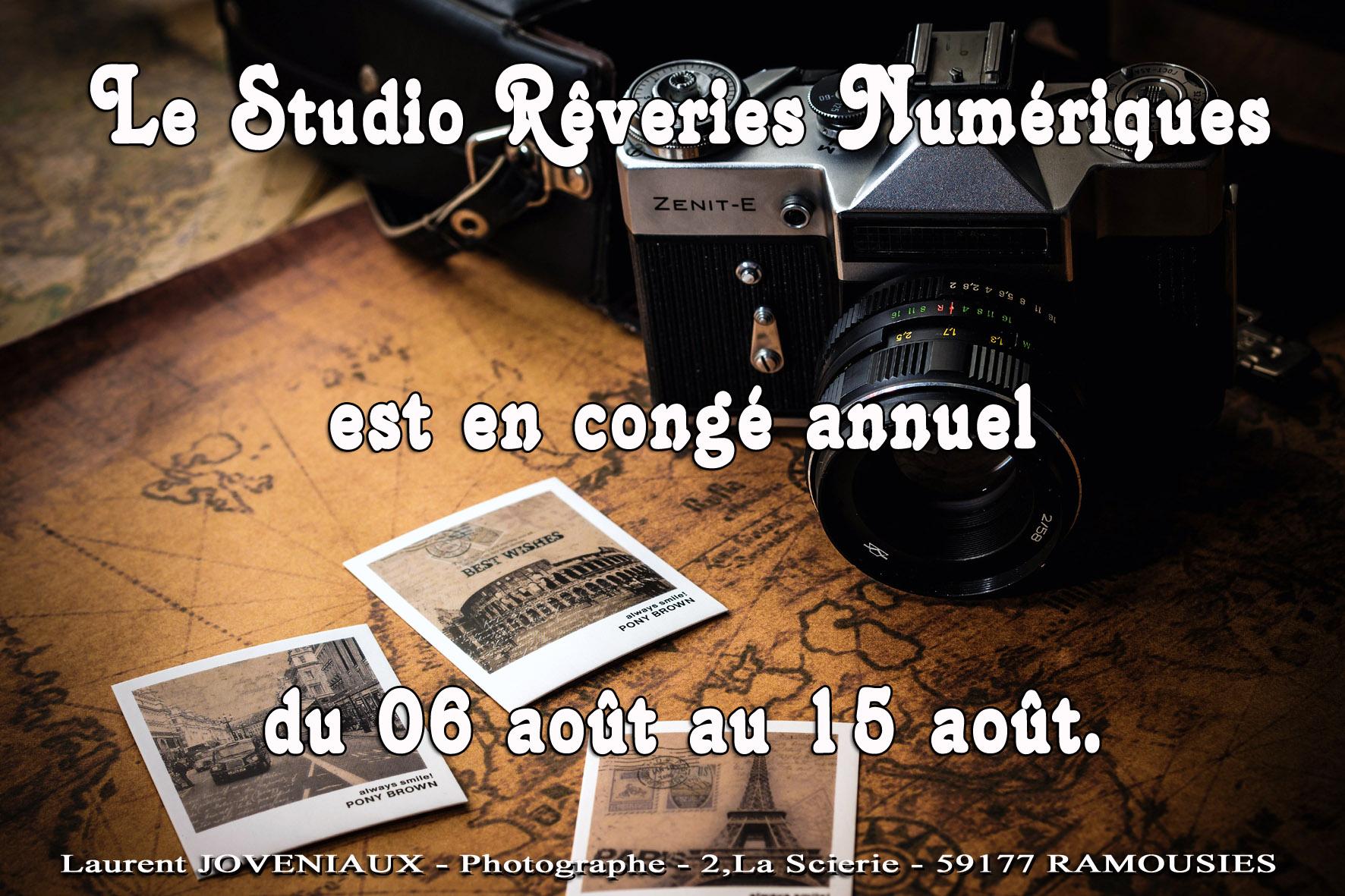 Joveniaux photographe mariage portrait graphiste studio reveries numeriques sains du nord