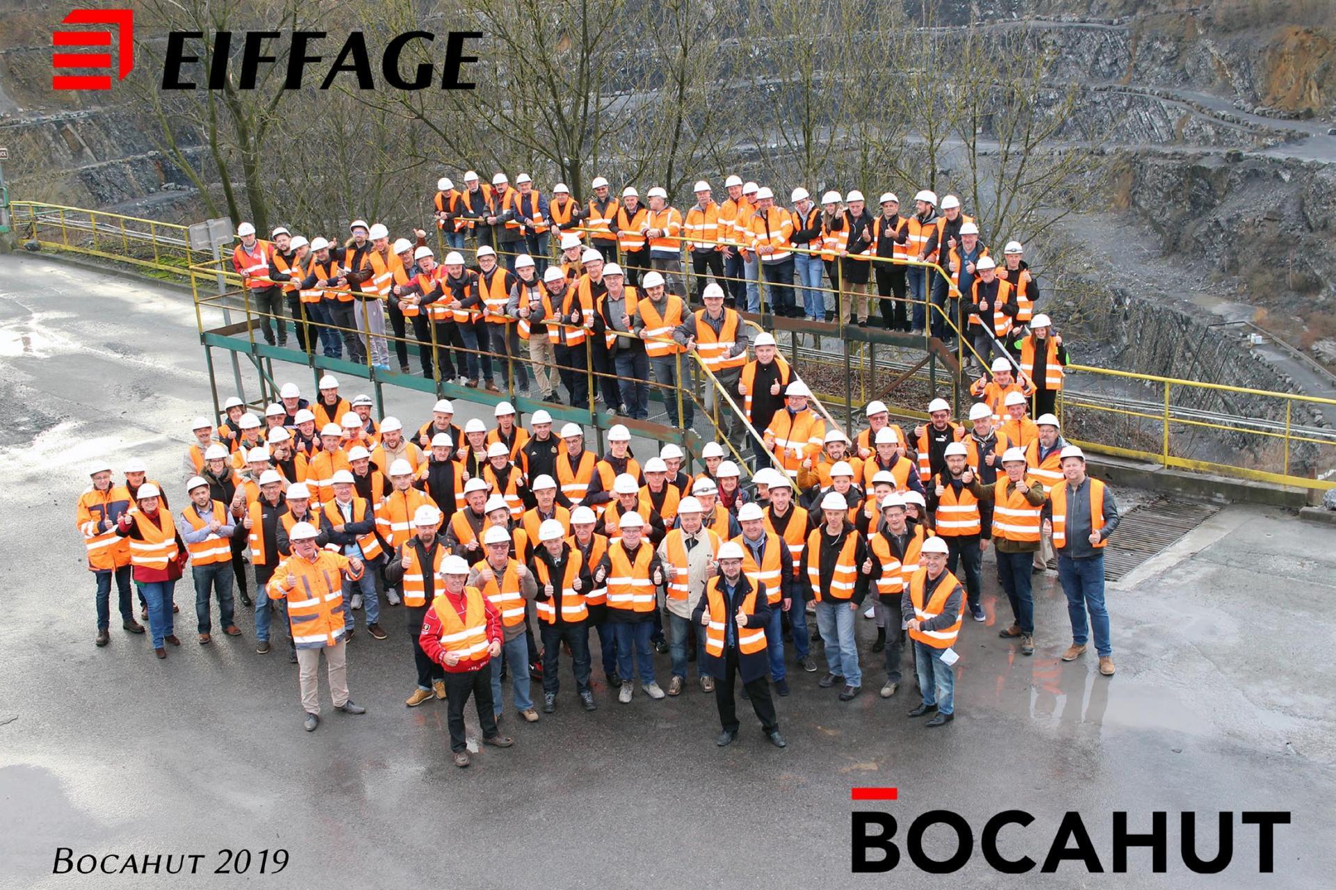 Photographie d'entreprise pour Eiffage