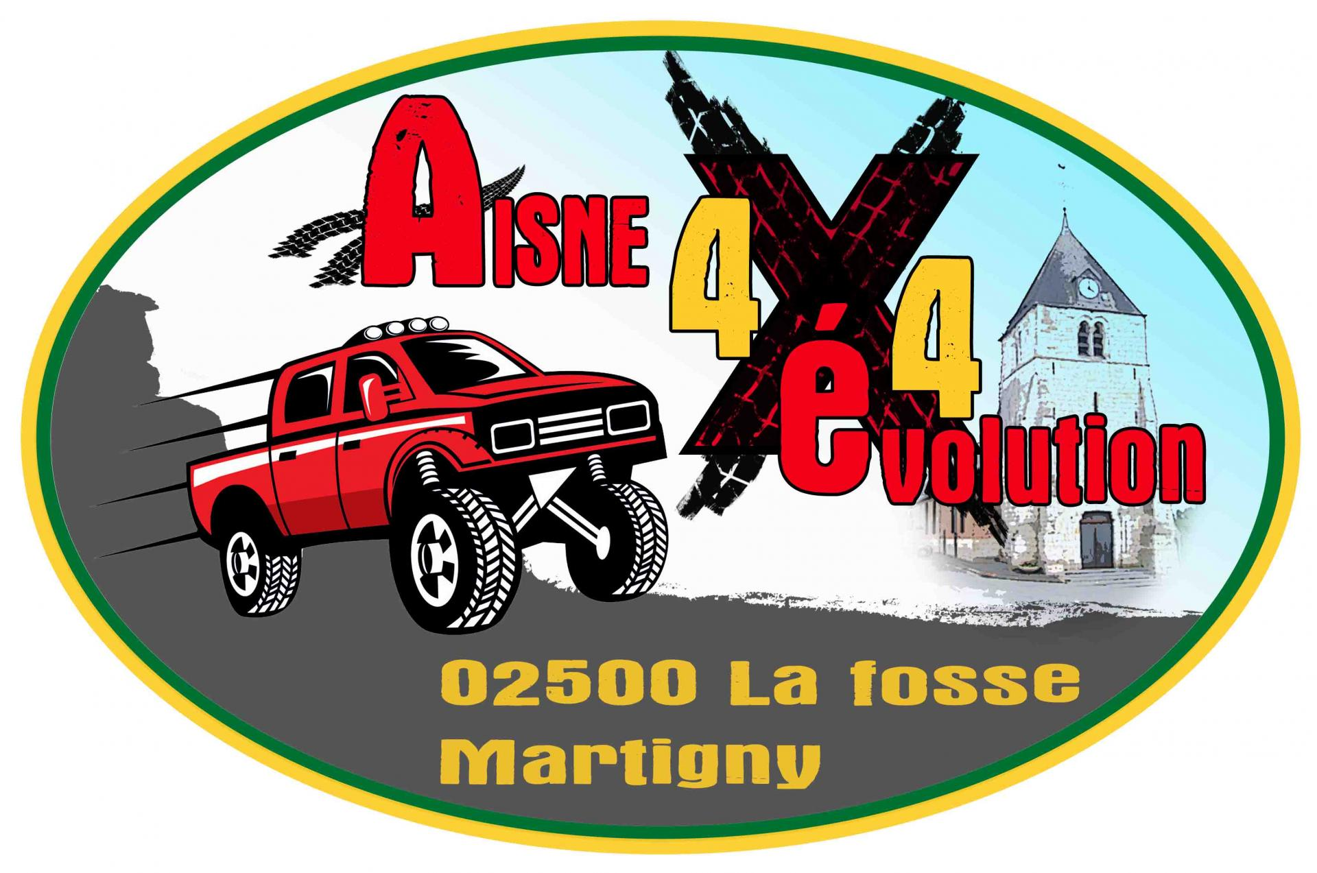 Logo 4x4 joveniaux graphiste sains du nord