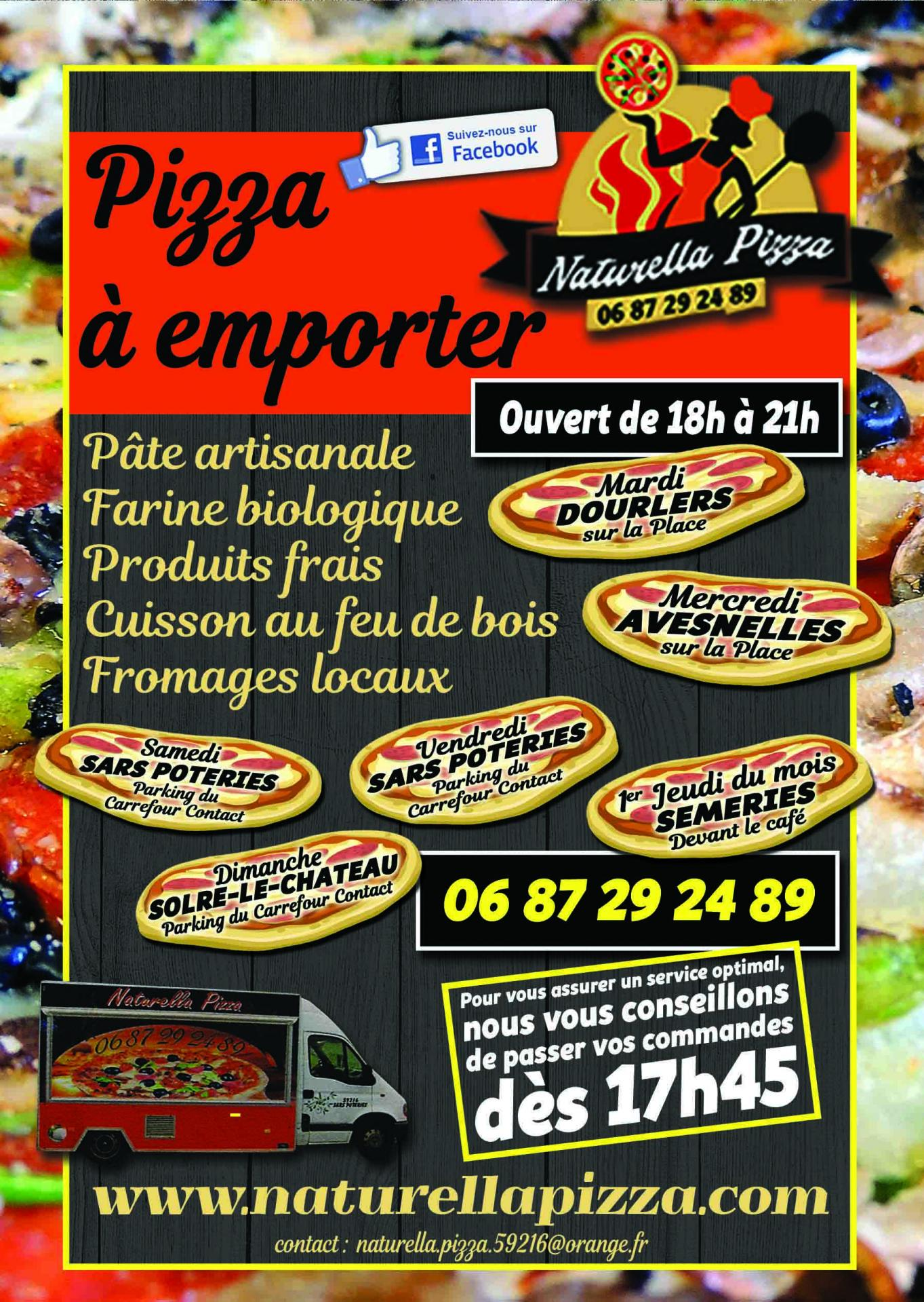 Studio reveries numeriques naturella pizza
